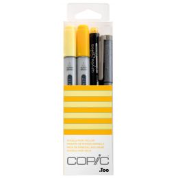 COPIC Marker ciao, 4er Set Doodle Pack Yellow