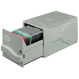 DURABLE Archivsystem MULTIMEDIA BOX I, für 27 CDs / DVDs