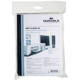 DURABLE Vlies-Oberflächen-Reinigungstücher DRY CLEAN 50