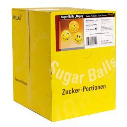 HELLMA Zuckersachets Sugar Balls Happy, im Displaykarton