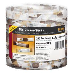 HELLMA Mini-Zuckersticks, in Runddose