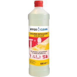 HYGOCLEAN Saurer Entkalker, 1 Liter Flasche