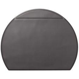 DURABLE Schreibunterlage halbrund, 650 x 520 mm, schwarz