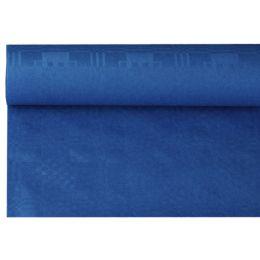 PAPSTAR Damast-Tischtuch, (B)1,2 x (L)8 m, dunkelblau