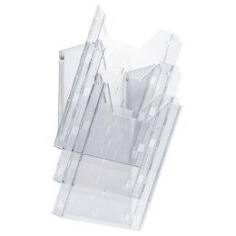 DURABLE Prospekthalter COMBIBOXX A4 set L, transparent