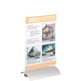 DURABLE Tischaufsteller PRESENTER, DIN A5, transparent