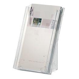 DURABLE Prospekthalter COMBIBOXX DIN lang, transparent