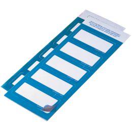 DURABLE Selbstklebe-Namensschild, aus Textil, hellblau