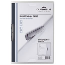 DURABLE Bewerbungsmappe DURASWING PLUS, DIN A4, transparent