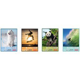herlitz Zeichenblock DIN A3, 100 g/qm, 25 Blatt