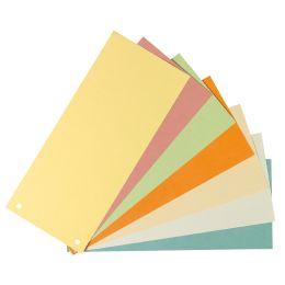 herlitz Trennstreifen, für DIN A4, Manila-Karton, gelb