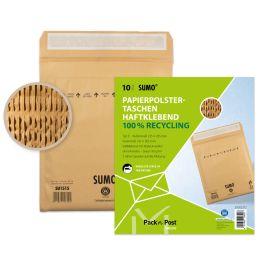 MAILmedia Papierpolster-Versandtasche SUMO, Typ E, braun