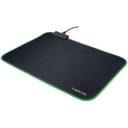 LogiLink Gaming Maus Pad mit RGB-Beleuchtung, schwarz