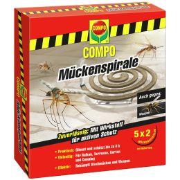 COMPO Mückenspirale / Räucherspirale