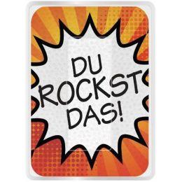 WEDO Brillen-Putztuch PocketCleaner DU ROCKST DAS!