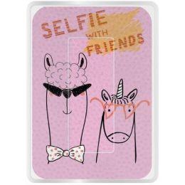 WEDO Brillen-Putztuch PocketCleaner SELFIE WITH FRIENDS