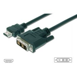 DIGITUS HDMI - DVI-D 18+1 Monitorkabel, 5,0 m
