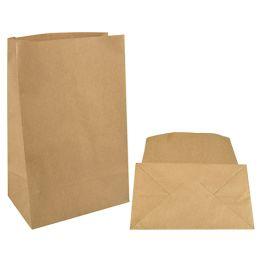 PAPSTAR Papiertüten mit Blockboden, braun