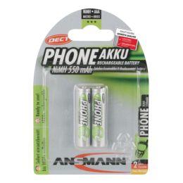 ANSMANN maxE NiMH Akku, Micro AAA, 550 mAh, 2er Blister