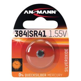 ANSMANN Silber-Oxid Uhrenzelle, SR626 (SR66), 1,55 Volt