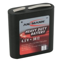 ANSMANN Zink-Kohle Flach-Batterie, 3R12, 4.5 Volt