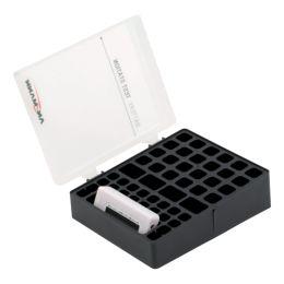 ANSMANN Aufbewahrungsbox für Akkus, mit Batterie Tester