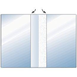 HETZEL Ausweishülle, PVC, 2-fach, 0,17 mm, Format: DIN A6
