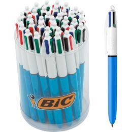 BIC Druckkugelschreiber 4Colours Original, im Thekendisplay