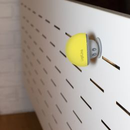 LogiLink Bluetooth Lautsprecher Mushroom, gelb