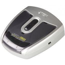 ATEN USB 2.0 Sharing Switch, 2-fach, silber/schwarz