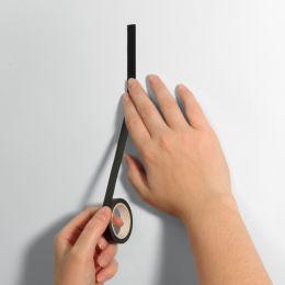 sigel Markierungsband Masking Tape, auf Rolle, schwarz