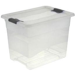 keeeper Aufbewahrungsbox cornelia, 24 Liter, transparent