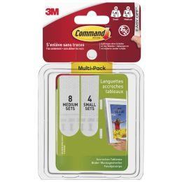 3M Command Bilder-Montagestreifen Strips, Multipack (S/M)
