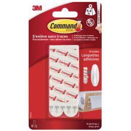 3M Command Nachfüllpackung Strips, Größe: L, weiß
