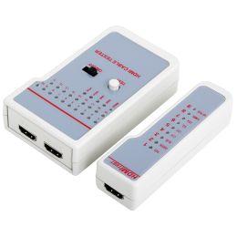 LogiLink HDMI Kabeltester, Überprüfung per Schnelltest