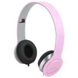 LogiLink Headset High Quality, faltbar, pink