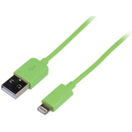 LogiLink Daten- & Ladekabel, Apple Lightning - USB-A Stecker