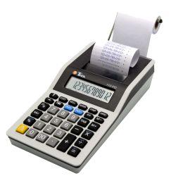 TWEN druckender Tischrechner 110 PD, grau/schwarz