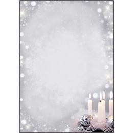 sigel Weihnachts-Motiv-Papier Christmas Silence, A4