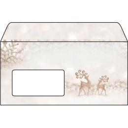 sigel Weihnachts-Motiv-Umschlag Brilliant Deer, DIN lang