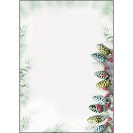 sigel Weihnachts-Motiv-Papier Christmas Garland, A4, 90 g/qm