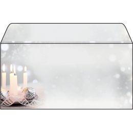 sigel Weihnachts-Motiv-Umschlag Christmas Silence, DIN lang