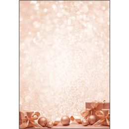 sigel Weihnachts-Motiv-Papier Golden Dream, A4, 90 g/qm