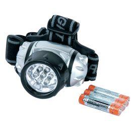 BRÜDER MANNESMANN LED-Stirnlampe, schwenkbar, mit 7 LEDs