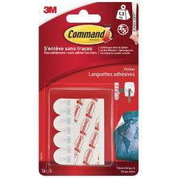 3M Command Nachfüllpackung Strips, Größe: S, weiß