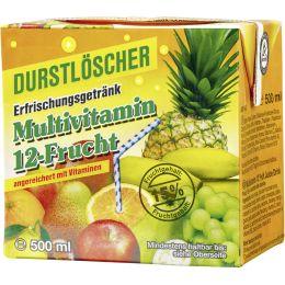 Durstlöscher Erfrischungsgetränk Multivitamin 12-Frucht