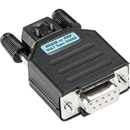 W&T Interface Konverter RS232 9 Pol Kupplung - LWL, 1KV