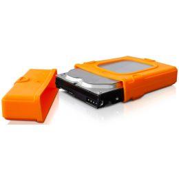 fantec Schutzhülle für 3,5 Festplatten, orange