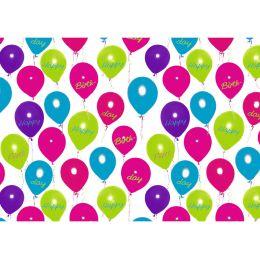 SUSY CARD Geschenkpapier Happy Balloons, auf Rolle