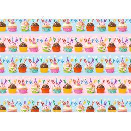 SUSY CARD Geschenkpapier Cupcakes, auf Rolle